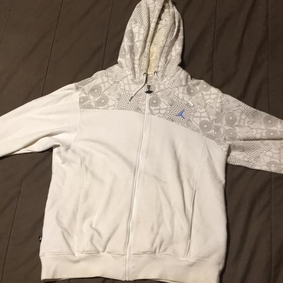 Jordan Full Zip Up Sweatshirt Mens L